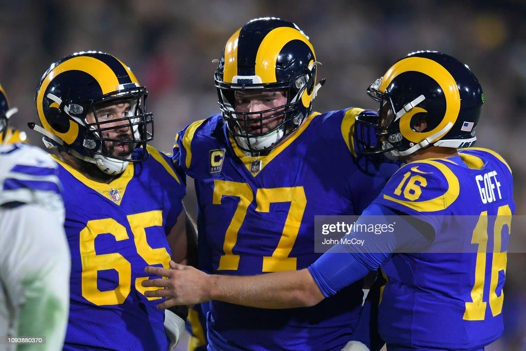 Divisional Round - Dallas Cowboys v Los Angeles Rams : ニュース写真