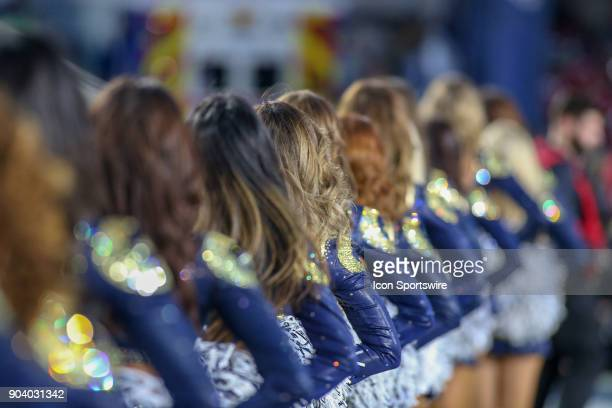 Los Angeles Rams cheerleader during the NFC Wild Card football game between the Atlanta Falcons and the Los Angeles Rams on January 06 2018 at the...