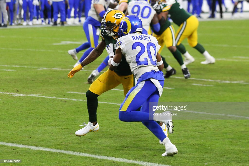 NFL: JAN 16 NFC Divisional Playoff - Rams at Packers : News Photo