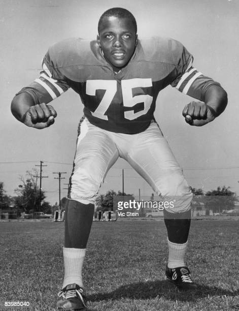 Los Angeles Rams Hall of Fame defensive end Deacon Jones circa the early1960s
