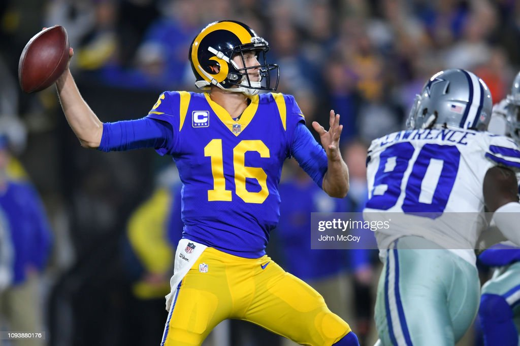 Divisional Round - Dallas Cowboys v Los Angeles Rams : News Photo