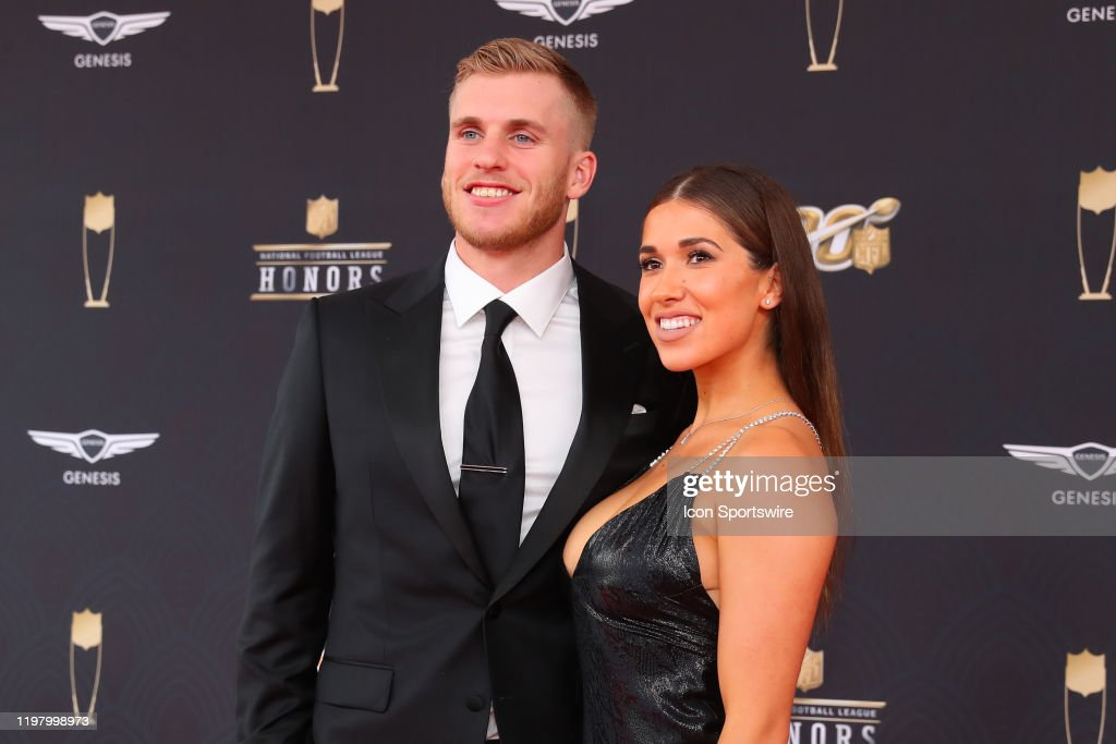 Los Angeles Rams Wide Receiver Cooper Kupp And His Wife Anna Croskrey News Photo Getty Images