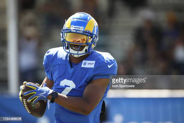 Los Angeles Rams wide receiver Robert Woods during the Los Angeles Rams Training Camp on August 4 at UC Irvine in Irvine, CA.