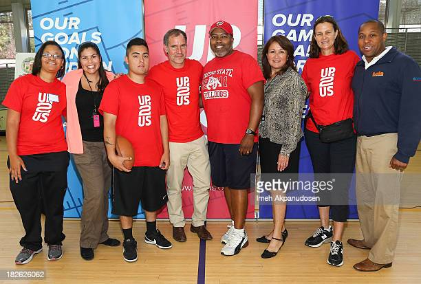 Los Angeles Recreation Coordinator Jacqueline Chilin Up2Us's Paul Caccamo Heart of Los Angeles Athletics Program Director Bruce Hooks Department of...