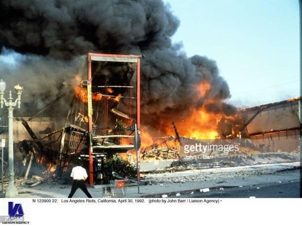Los Angeles Riots California April 30 1992