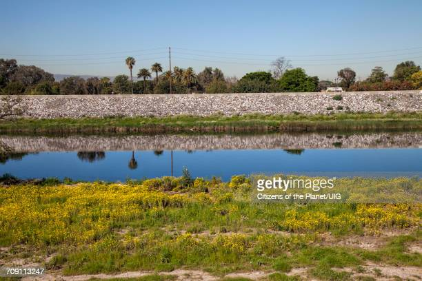 Los Angeles River near Willow Street