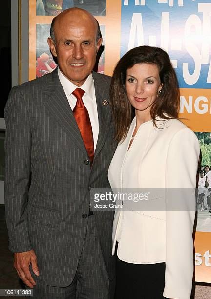Los Angeles Sheriff Lee Baca and wife during Reaching for the Stars Charity Dinner - Arrivals at The Beverly Hills Hotel in Beverly Hills,...