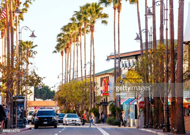 los angeles shopping - the grove los angeles stock pictures, royalty-free photos & images