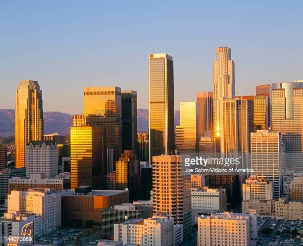 Los Angeles Skyline a Dusk California