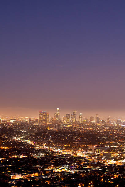 Los Angeles Skyline at Twilight
