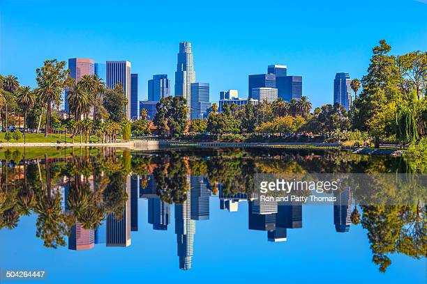 Los Angeles skyline, CA