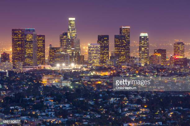 Los Angeles Skyline Cityscape, California, USA