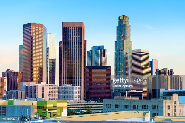 Los Angeles Skyline Cityscape, California, USA