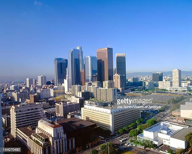 Los Angeles Skyline from City Hall California