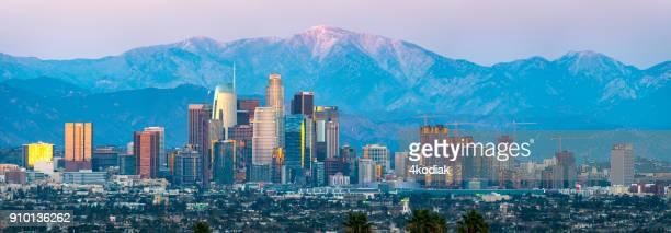 Los Angeles Skyline Panorama