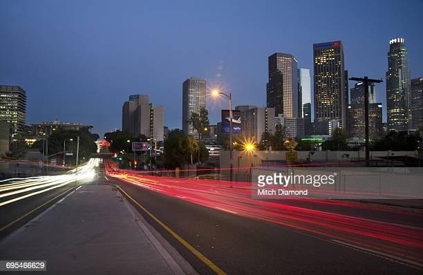 Modern Lighting Los Angeles Stock