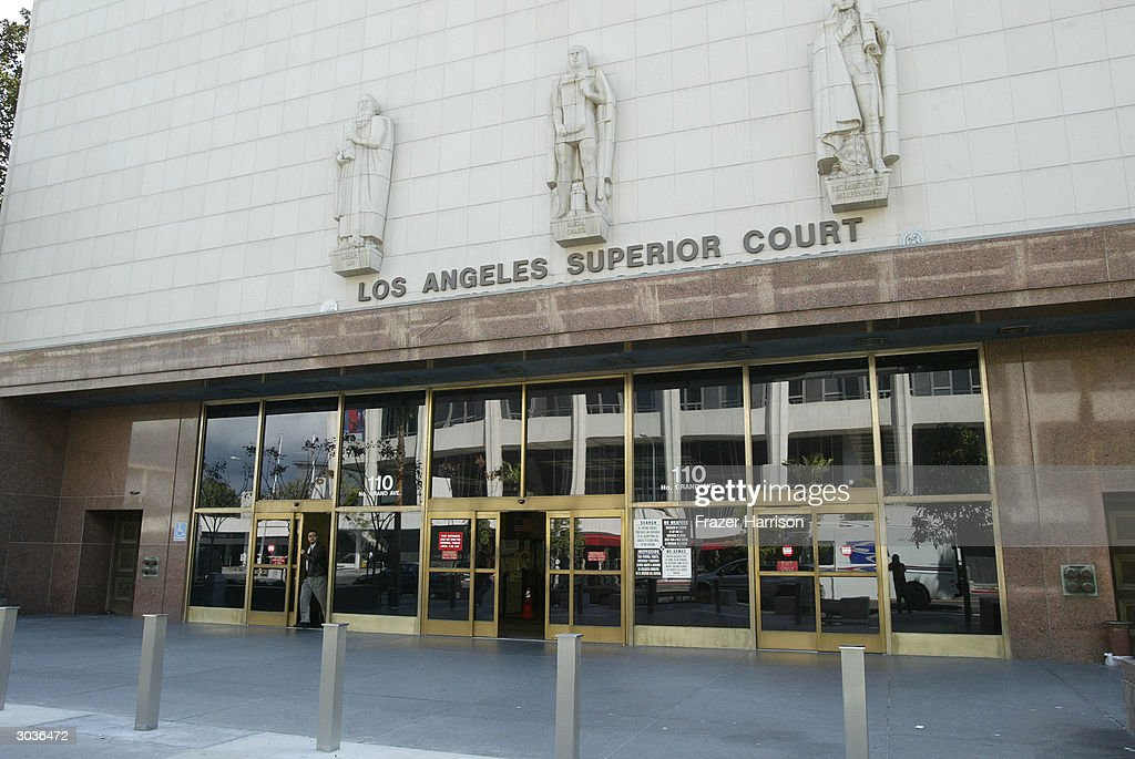 los angeles superior court stanley mosk courthouse march 2 2004 in los angeles hills