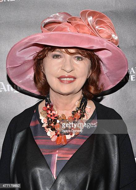 Los Angeles Times columnist Patt Morrison attends the Bridging the Divide screening during the 2015 Los Angeles Film Festival at Regal Cinemas LA...