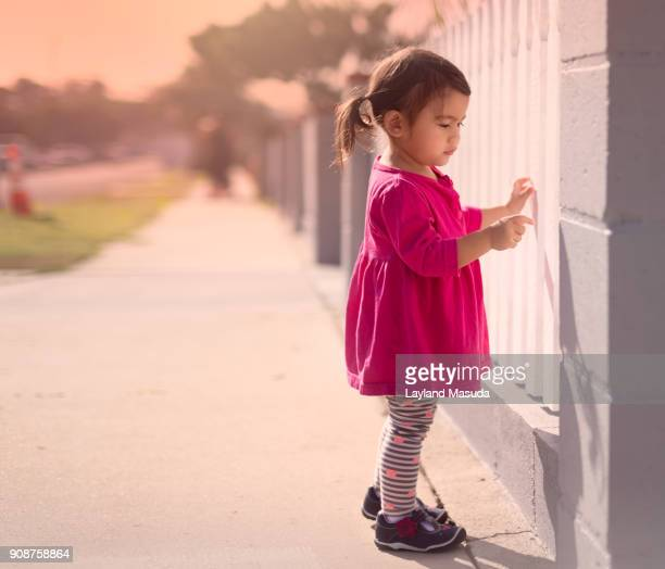 Los Angeles Toddler In Pink Dress