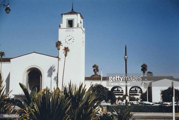 Los Angeles Union Station Los Angeles California circa 1962