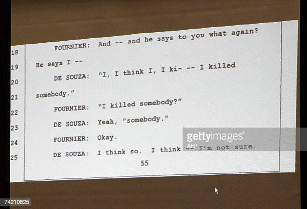 Los Angeles, UNITED STATES: A transcript of an interview of Los Angeles County homicide detective Paul Fournier with Phil Spector's chauffer Adriano...