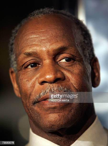 Actor Danny Glover arrives for the premiere of Paramount Pictures production Shooter in Los Angeles CA 08 March 2007 The film starring Mark Wahlberg...