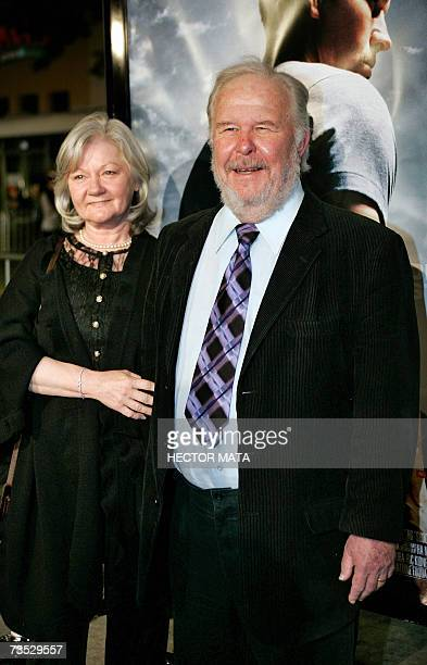 Actor Ned Beatty and his wife Sandra Johnson arrive for the premiere of the Paramount Pictures production Shooter in Los Angeles CA 08 March 2007...