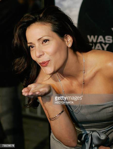 Actress Contance Marie arrives for the premiere of the Paramount Pictures production Shooter in Los Angeles CA 08 March 2007 Starring Mark Wahlberg...