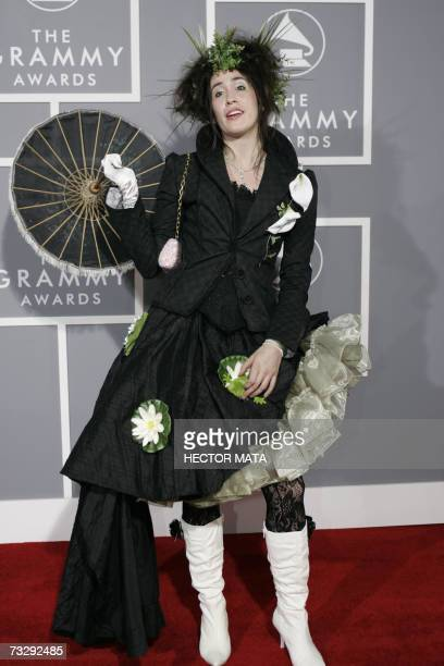 Los Angeles, UNITED STATES: Nominee for Best New Artist Imogen Heap arrives at the 49th Grammy Awards in Los Angeles 11 February 2007. AFP...