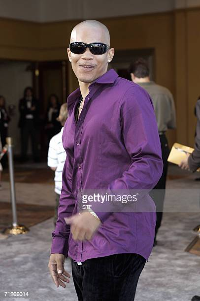 Singer Dewayne Turrentine arrives to the premiere of Superman the Return at the Mann Village Theater in Los Angeles 21 June 2006 AFP PHOTO