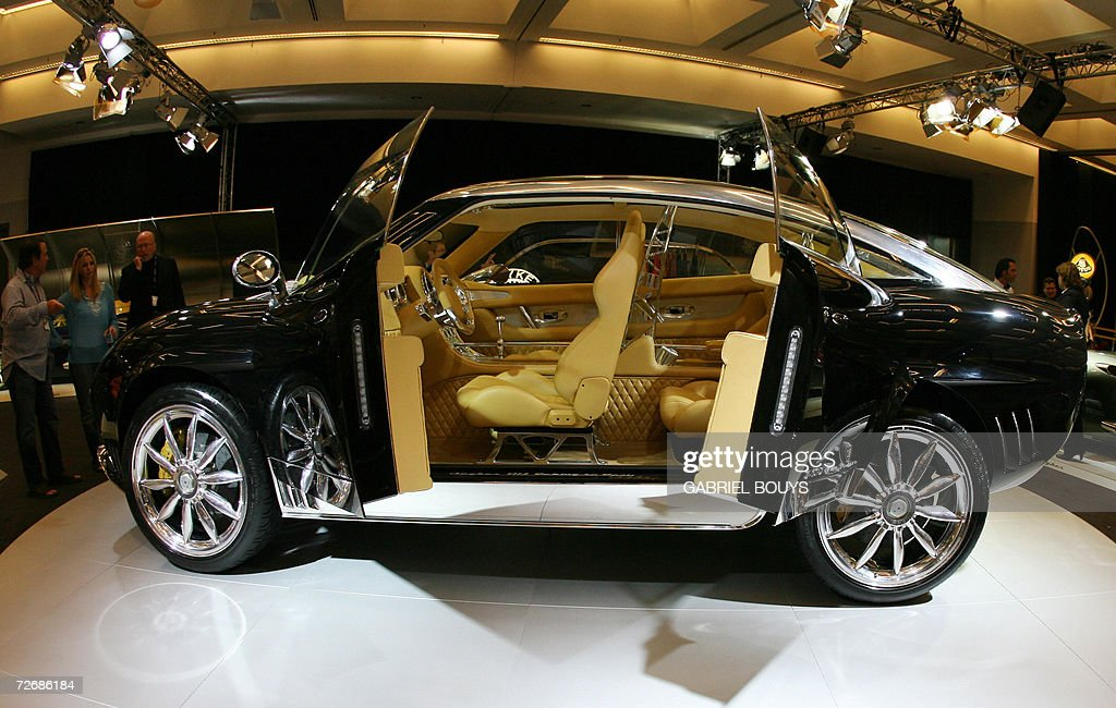The new Spyker D12 Peking-To-Paris is pr : News Photo