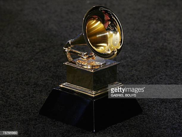 Los Angeles, UNITED STATES: The trophy of the Grammy Awards in Los Angeles 11 February 2007. AFP PHOTO/Gabriel BOUYS