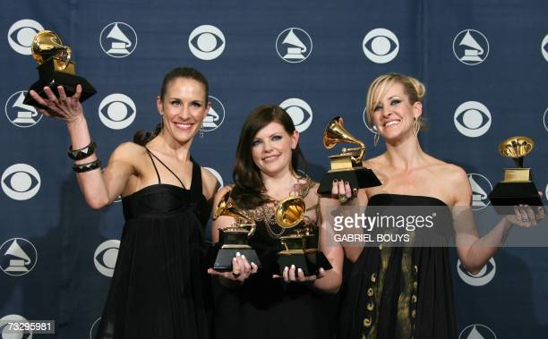 Los Angeles, UNITED STATES: Winners of Best Record of the Year, Best Album of the Year, Best Song of the Year, Best Country Performance By A Duo Or...