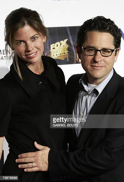 Writer and Producer JJ Abrams and his wife Katie McGrath arrive at the Mentor LA's Promise Gala honoring Tom Cruise for his outstanding commitment to...