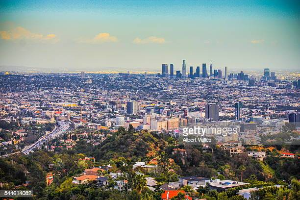 Los Angeles Viewed from Runyon Canyon