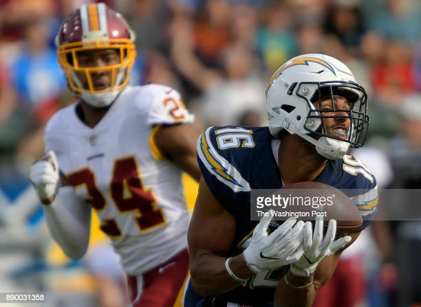Los Angeles wide receiver Tyrell Williams left hours in a 2nd quarter long bomb touchdown pass against Washington cornerback Josh Norman as the Los...
