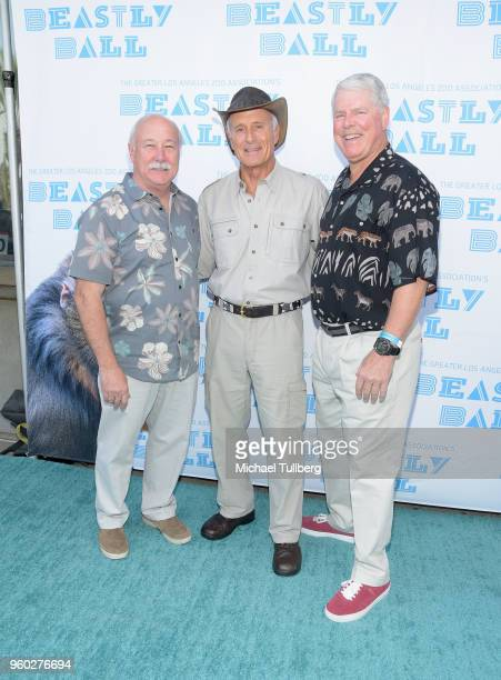 Los Angeles Zoo Director John Lewis Director Emeritus of the Columbus Zoo Jack Hanna and GLAZA Chair Richard Corgel attend the Greater Los Angeles...