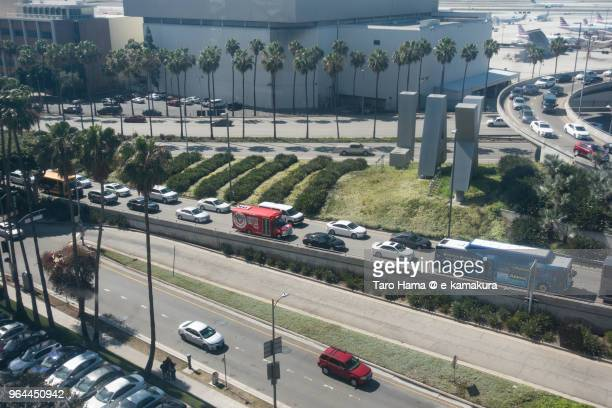 Los Angels International Airport in California in USA