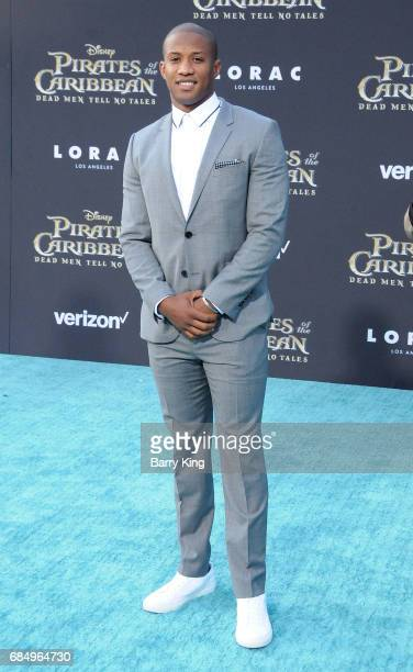 Los Angels Rams Assistant Wide Reciever Coach Kenan Smith attends premeire of Disney's 'Pirates Of The Caribbean Dead Men Tell No Tales' at Dolby...