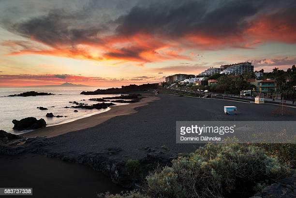 Los Cancajos beach (La Palma island. Canaries. Spain)