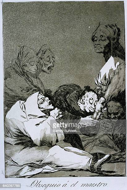 A gift for the master by Francisco Goya