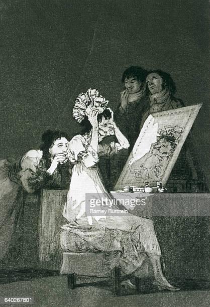 Until death by Francisco Goya