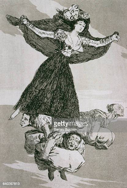 They Have Flown by Francisco Goya