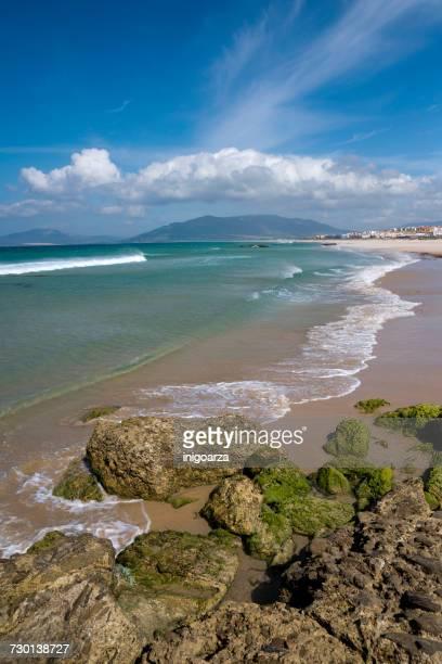 Los Lances beach, Tarifa, Cadiz, Andalucia, Spain