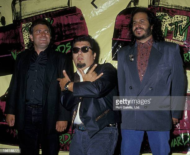 Los Lobos attends Fifth Annual MTV Video Music Awards on September 7 1988 at the Universal Ampitheater in Universal City California