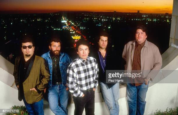 Los Lobos in 1987 shot to fame when their cover version of Ritchie Valens' La Bamba topped the charts in the US the UK David Hidalgo Louie Pérez...