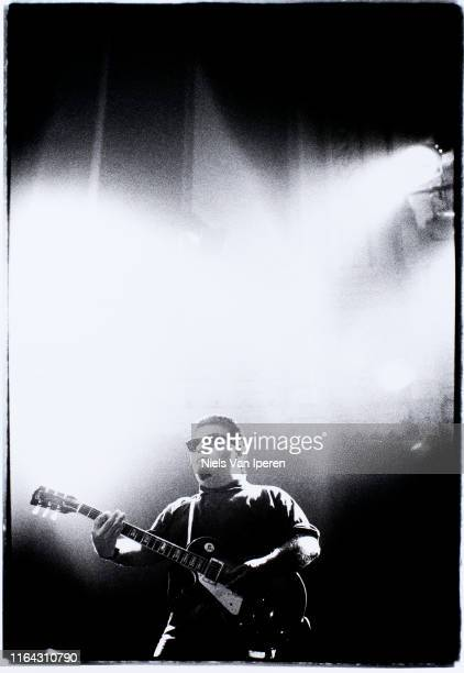 Los Lobos performing on stage Paradiso Amsterdam Netherlands 21st July 1993