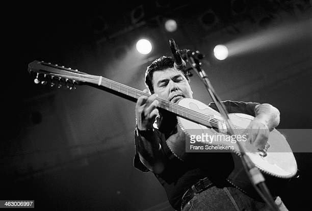 Los Lobos performs at the Paradiso in Amsterdam, the Netherlands on 20th September 1990.