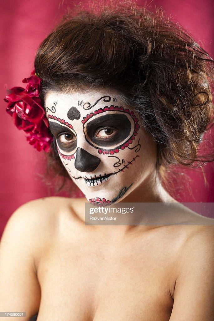 Los Muertos Girl : Stock Photo