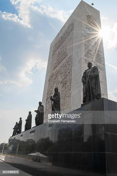 Los Proceres monument, Caracas, to all of the leaders of the independence movement. Caracas, Venezuela. South America.